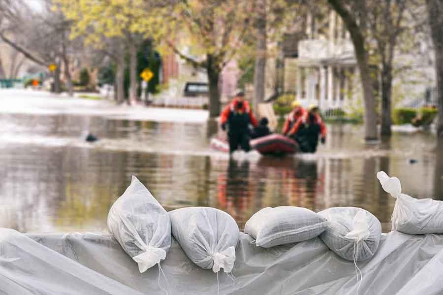 Hochwassergebiet Abklärung